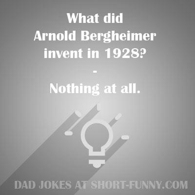 Best Dad Jokes List | Short-Funny com