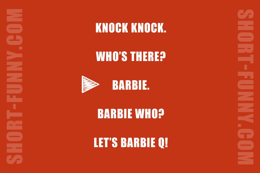 Party Barbie Knocking
