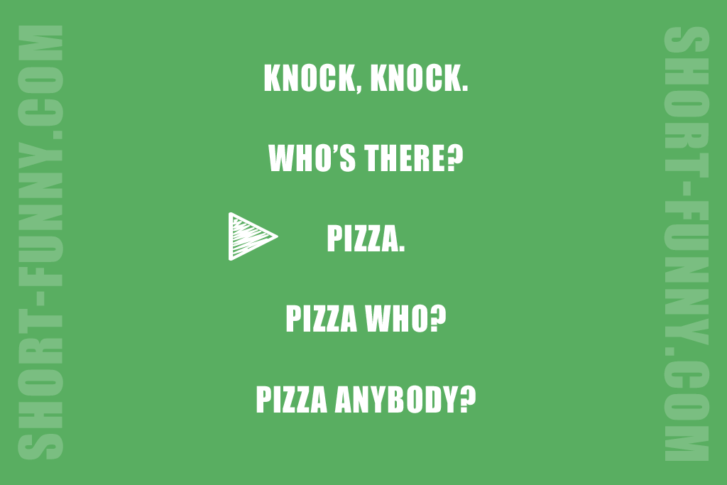 Pizza Pun is Always Welcome