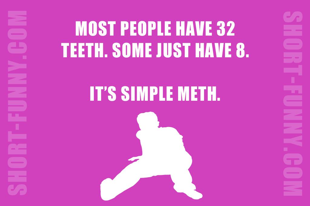 Simple Meth Pun