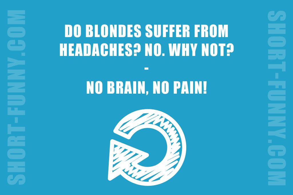 Dumb Blonde Humor