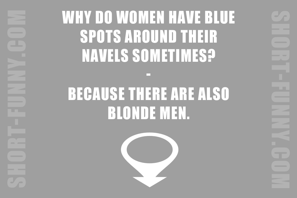 Blonde Troubles Joke