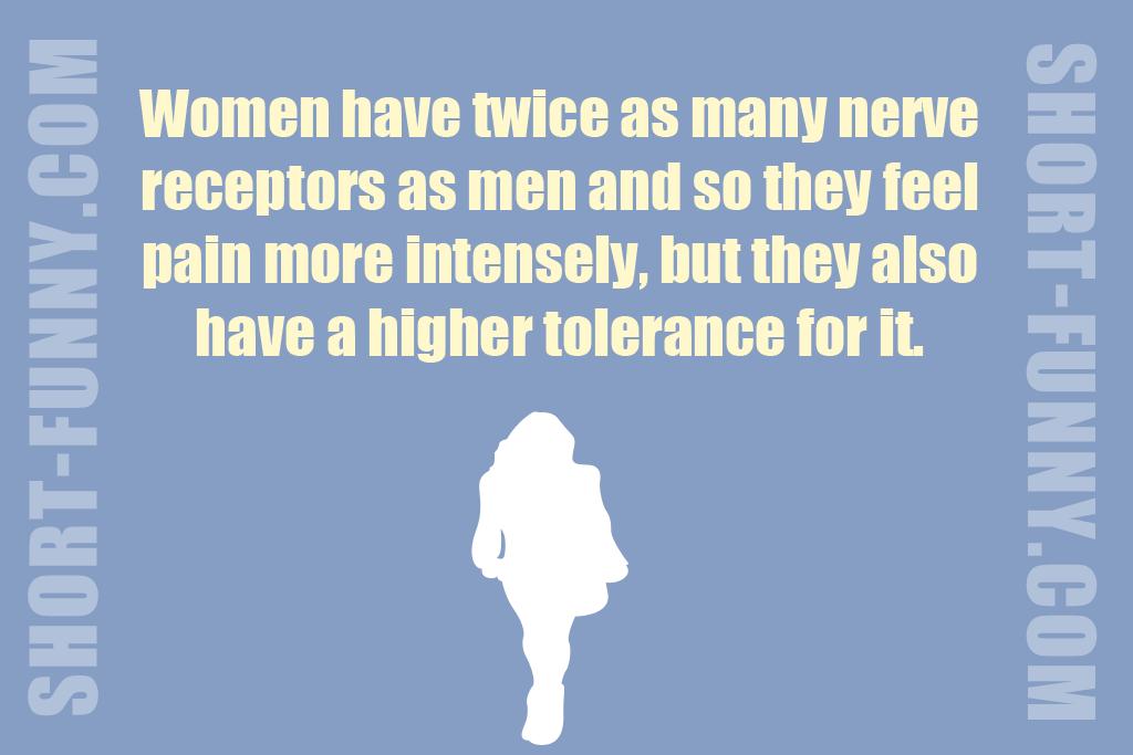 Incredible fun fact about women