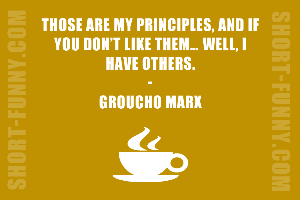 Funny Quote on Personal Values