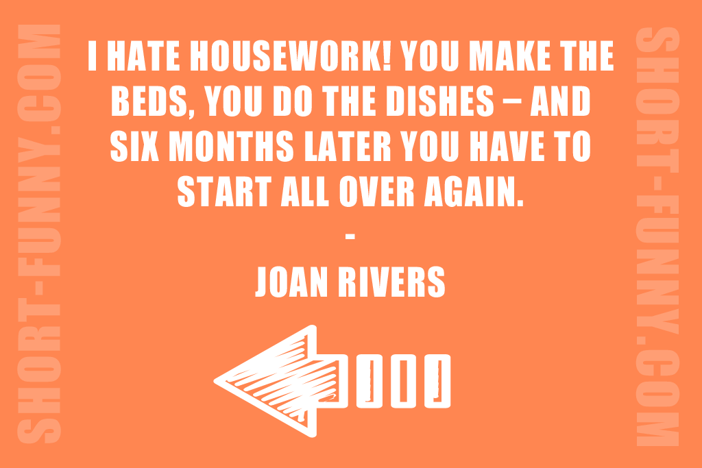 Funny Housewife Complaint