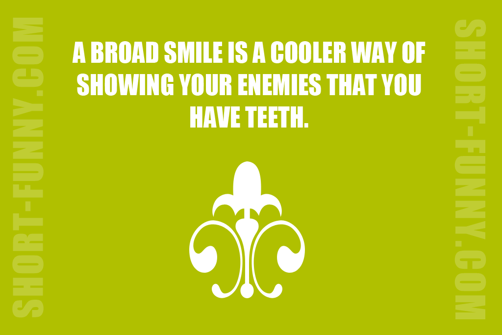 That Is Why You Smile