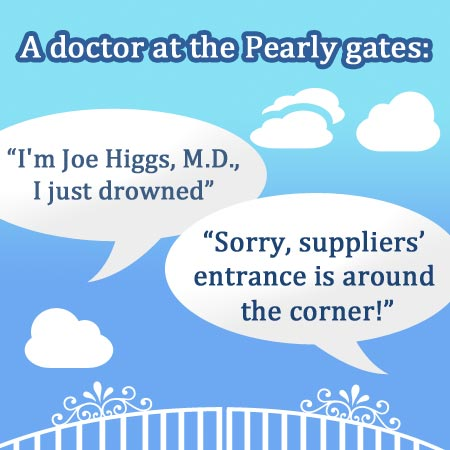 Pearly Gates Joke