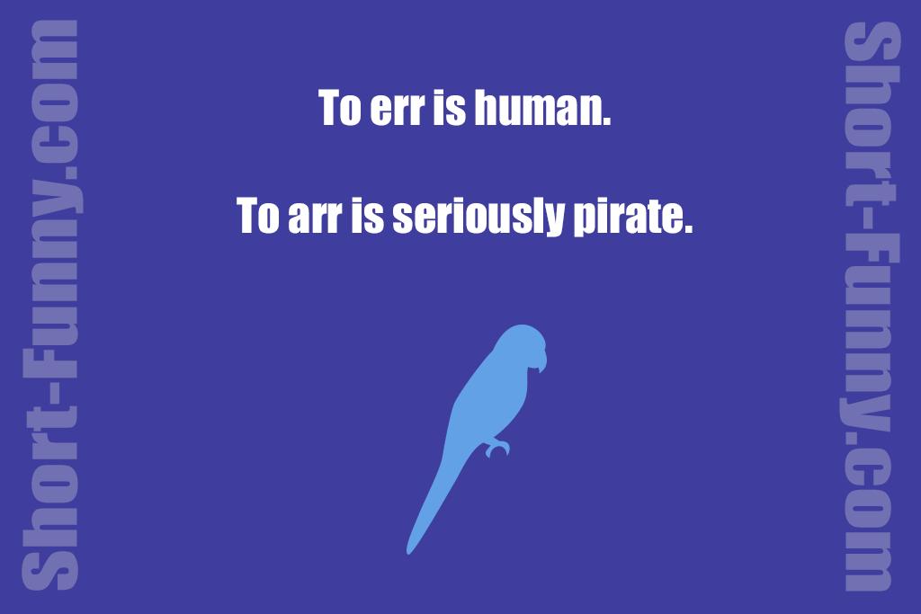 Pirate Philosophy Joke